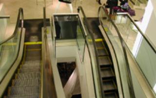 Holt Renfrew - Escaliers roulants
